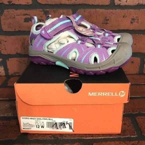 cf0aeb345161 Merrell Hydro Hiker Girls Sandals Size 12W NEW